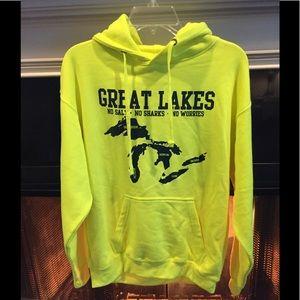 Great Lakes hooded sweatshirt NWT
